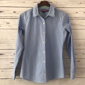 Striped Vineyard Vines Button Down